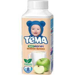 Биойогурт питьевой Тёма Зеленое яблоко 2,8% с 8 мес. 210 мл