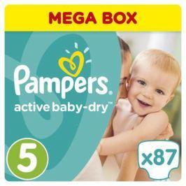 Подгузники Pampers Active Baby-Dry 5 (11-18 кг) 87 шт.