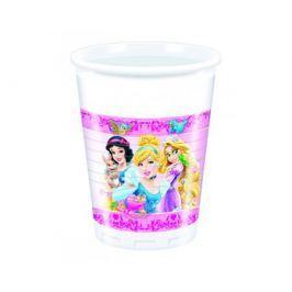 Стаканы пластиковые Procos «Принцессы и животные» 200 мл 8 шт.