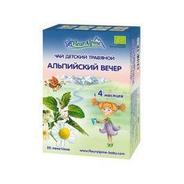 Чай детский Fleur Alpine «Альпийский вечер» с 4 мес. 20 г