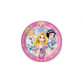 Тарелки одноразовые Procos «Принцессы Дисней - Сказочный мир» 20 см 8 шт.