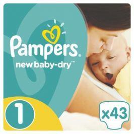 Подгузники Pampers New Baby-Dry 1 (2-5 кг) 43 шт.