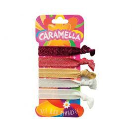 Резинка-браслет Caramella с блеском разноцветный 5 шт.