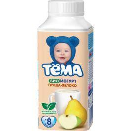 Биойогурт питьевой Тёма Груша и яблоко 2,8% с 8 мес. 210 мл