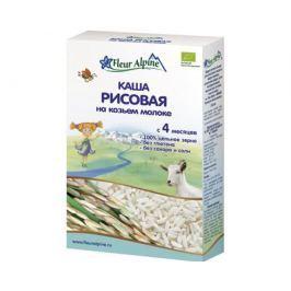 Каша Fleur Alpine Organic рисовая на козьем молоке с 4 мес. 200 г
