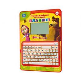 Игровой планшет Умка «Маша и Медведь» обучающий со звуком 80 программ