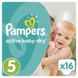 Подгузники Pampers Active Baby-Dry 5 (11-18 кг) 16 шт.