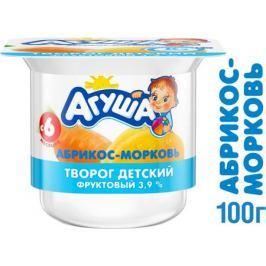 Творог Агуша Абрикос и морковь 3,9% с 6 мес. 100 г