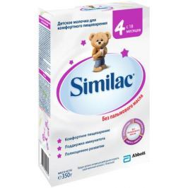 Детское молочко Similac 4 c 18 мес. 350 г