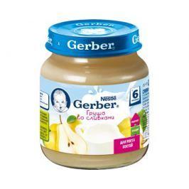 Пюре Gerber Груша со сливками с 6 мес. 125 г