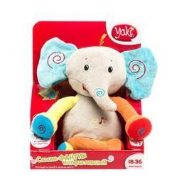 Интерактивная игрушка Yaki «Слон Фантик» мягконабивная