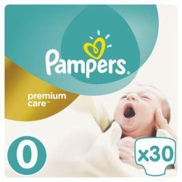 Подгузники Pampers Premium Care 0 (1-2,5 кг) 30 шт.