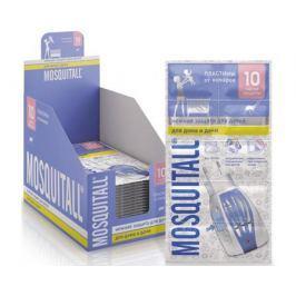 Пластины Mosquitall «Нежная защита для детей» от комаров 10 шт