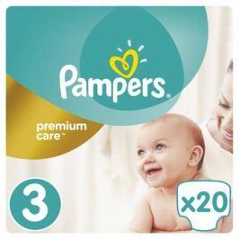 Подгузники Pampers Premium Care 3 (5-9 кг) 20 шт.