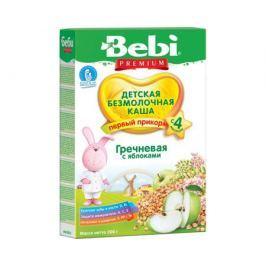 Каша безмолочная Bebi Premium гречневая с яблоком с 4 мес. 200 г