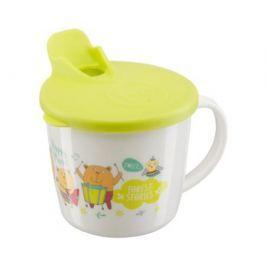 Поильник Happy Baby «Traning Cup» с носиком и крышкой с 8 мес. в ассортименте