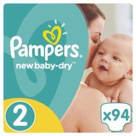 Подгузники Pampers New Baby-Dry 2 (3-6 кг) 94 шт.