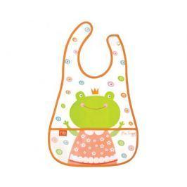 Нагрудник Happy Baby «Children`s bib» на липучке с кармашком в ассортименте