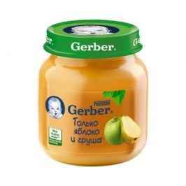 Пюре Gerber Яблоко и груша с 5 мес. 130 г