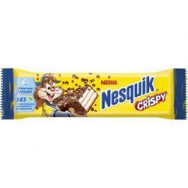 Батончик Nesquik Crispy с хрустящей вафлей 8х22 г