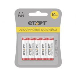 Батарейка Старт АА алкалиновая 10 шт