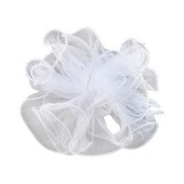 Бант для волос Принчипесса «Мяч» белый