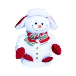 Снеговик Метелица музыкальный 19 см