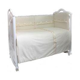 Комплект в кроватку Bombus/L'Abeille «Стефания» 6 пр. бежевый