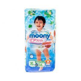 Трусики-подгузники Moony Man для мальчиков XL (12-17 кг) 38 шт.