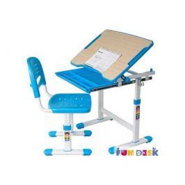 Комплект мебели FunDesk «Piccolino» стол 66х47 см и стул голубой