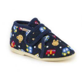 Туфли домашние малодетские для мальчика, Домашки, темно-синие