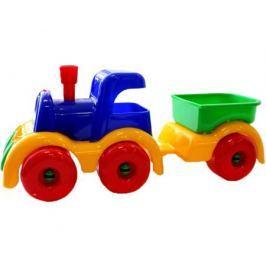 Паровозик Пластмастер «Малышок» грузовой 20 см
