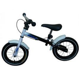 Беговел Ase-Sport «ASE-kid's balance bicycle» с ручным тормозом черный/белый