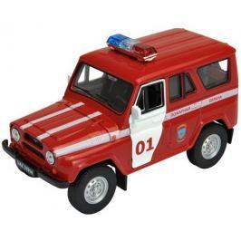 Модель машины Welly «УАЗ-31514 Пожарная охрана» 1:34
