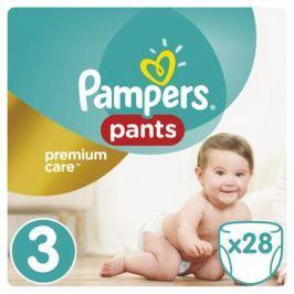 Трусики-подгузники Pampers Premium Care 3 (6-11 кг) 28 шт.