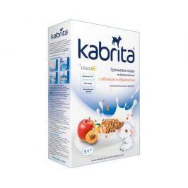 Каша Kabrita гречневая с яблоком и абрикосом на козьем молоке с 5 мес. 180 г