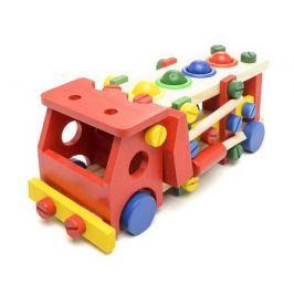 Игрушка конструктор-забивалка Фабрика фантазий «Машинка» деревянная