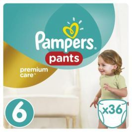Трусики-подгузники Pampers Premium Care 6 (15+ кг) 36 шт.