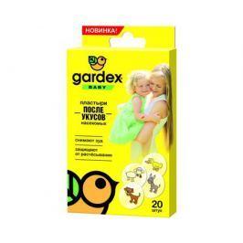 Пластырь после укусов насекомых Gardex «Baby» 20 шт.