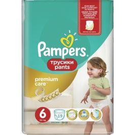 Трусики-подгузники Pampers Premium Care 6 (15+ кг) 19 шт.