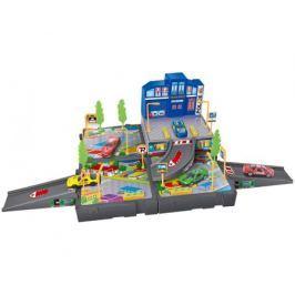 Игровой набор Dave Toy «Полицейский участок» с 2 машинками