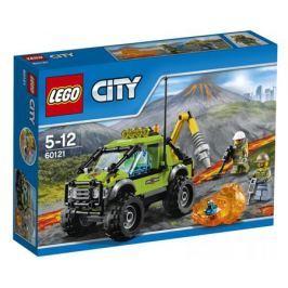 Конструктор LEGO City 60121 Грузовик исследователей вулканов