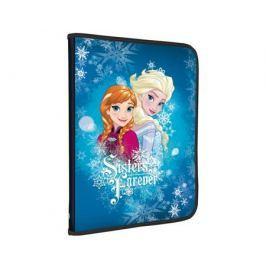 Папка для тетрадей Disney Frozen на молнии