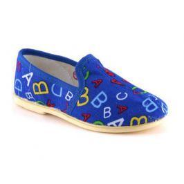 Туфли для мальчика Домашки синие
