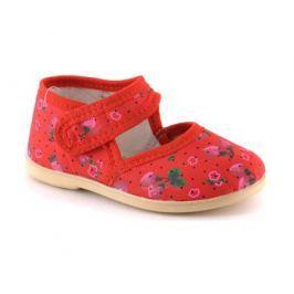 Туфли для девочки Домашки красные