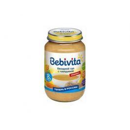 Суп Bebivita Овощной с говядиной с 8 мес. 190 г