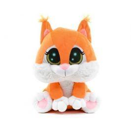 Мягкая игрушка СмолТойс «Бельчонок Тришка» 25 см оранжевая