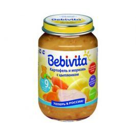Пюре Bebivita Картофель и морковь с цыпленком с 9 мес. 190 г