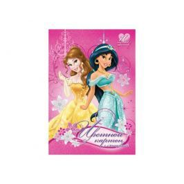 Цветной картон Disney Princess 10 цв.