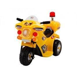 Электромобиль OCIE «Мотоцикл» с аккумулятором желтый
